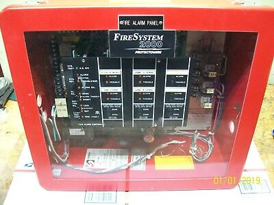 Protectowire Fire System 2000 Alarm Panel Fs2004-120-gc--lti2x
