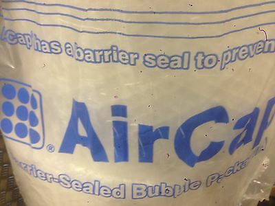 1 ROLL AIRCAP BUBBLE WRAP - 50 m X 750 MM WIDE - LARGE BUBBLES + FREE 24h