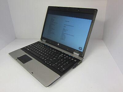 Hp Probook Laptop 6555B W  Amd P320 2 10 Ghz   4Gb Ram   160Gb Hd No Os