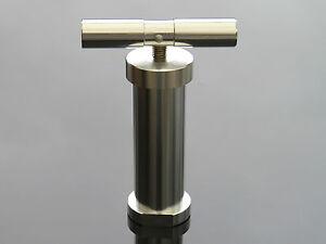 Heavy Duty Aluminium T Bar Pollen Press Dry Herb Tobacco Hand Held Compressor