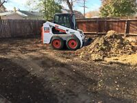 Operator and Bobcat for hire