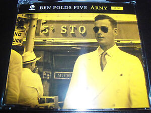 Ben-Folds-Five-Army-Australian-2-Track-Promo-CD-Single-SAMP-2081