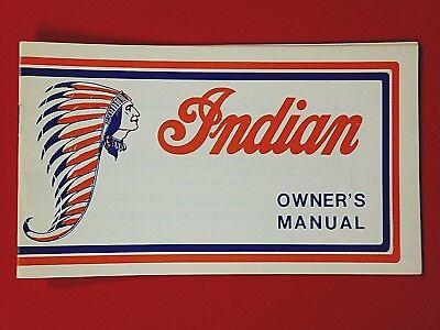 (-NOS 1975 Indian Owner's Manual 70 100 125 175 dirt bike motorcycle)