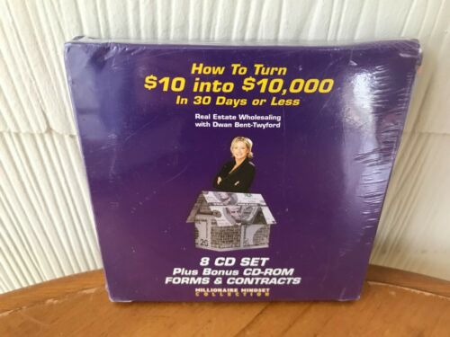 HOW TO TURN $10 INTO $10,000 IN 30 DAYS OR LESS - DWAN BENT TWYFORD  9 CD