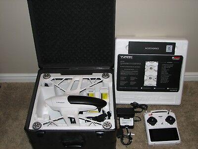 Yuneec Typhoon Q500+ 2K Drone Quadcopter Compl. Kit, Alum. Case+ EXC. CONDITION