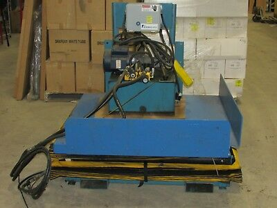 Advance Hydraulic Lift Tilt Platform 48 X 48 Table Pt-series