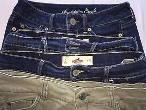 teens clothing - gently worn name brand shorts