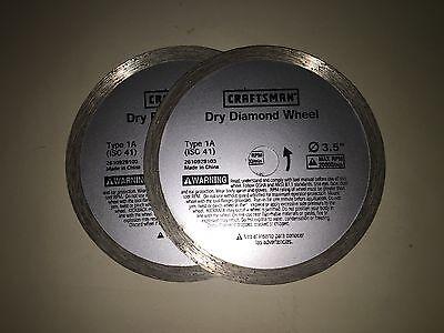 5 New Craftsman 1a Diamond Wheels Dremel Sawmax Rotozip Spiralsaw Free Shipping