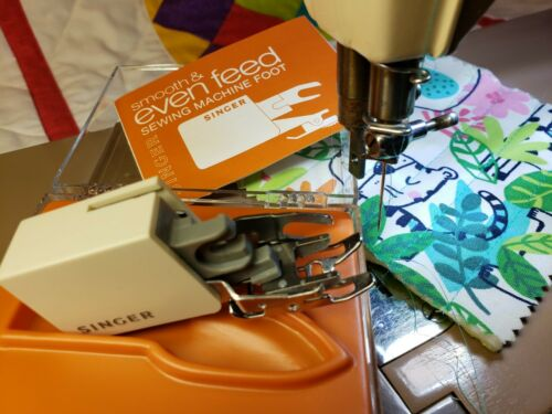 Singer Slant Needle Smooth & Even Feed  C400 ~ Featherweight 301a Tested QUILT!