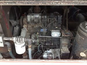 4 cly continental Diesel engine