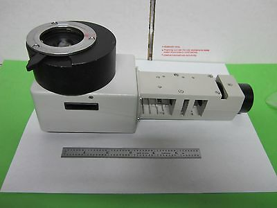 Leitz Vertical Illuminator Microscope Part Optics As Is Binm2