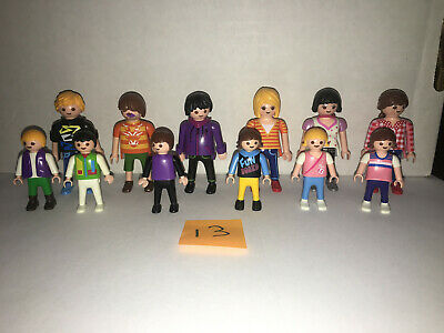Playmobil set of 12 RANDOM KLICKIES 3 MEN 3 WOMEN 3 BOYS 3 GIRLS (LOT 13) , used for sale  Powell