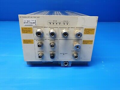 Hp Agilent Keysight 70420a Opt 201 Phase Detector Test Set Module