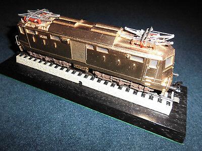Marklin H0 - Eloc E424 Italy vergoldet - only nr. 21 made from Marklin - absolut