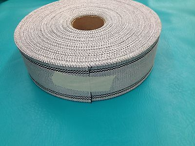 "10 Yards Synthetic Upholstery Webbing  3 1/2"" Wide Furniture Seat Chair Jute"