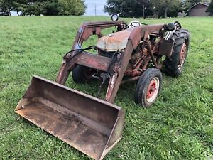 Ford 8n tractor with loader
