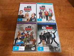 The big bang theory TV series dvds Forest Lake Brisbane South West Preview
