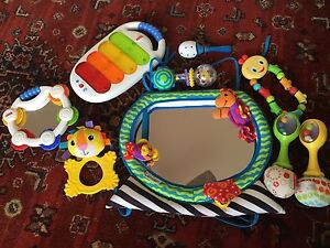 Baby toys assorted, Fisher Price and Lamaze. Altona North Hobsons Bay Area Preview