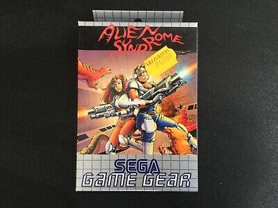 1992 SEGA GAME GEAR ALIEN SYNDROME NEW IN BOX PAL MULTILANGUAGE BOX