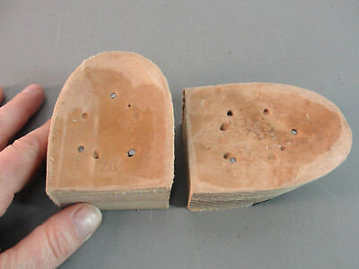STACKED LEATHER REPLACEMENT WESTERN COWBOY BOOT HEEL RUBBER CAP 1.5