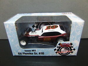 Ed Flemke #10 Manchester Sand & Gravel NASCAR Modified Pinto 1/64