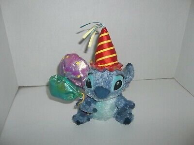 walt disney store lilo & stitch party plush bean bag with balloons 8