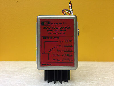 Eip 2010182-02 Negative Gunn Band 4 Oscillator