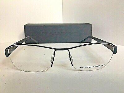 New PORSCHE DESIGN P 8211 D 52mm Rx Semi-Rimless Men's Eyeglasses Frame (Designer Semi Rimless Frames)