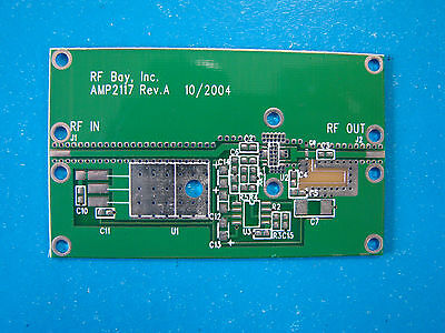 Develop Pcb For Pacific Monolithics Pm2117 2.4-2.5ghz Mmic Power Amplifier