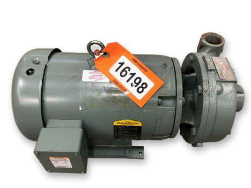 7.5 HP FLOWSERVE Size 1.5 x 1 x 7 Centrifugal Pump Type 3000 [Unused!]