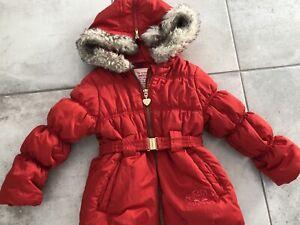 Manteau MEXX hiver léger fille 2 ans