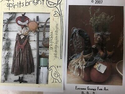 "Primitive ""Pumpkin with Witch Hat and Boots"" or"