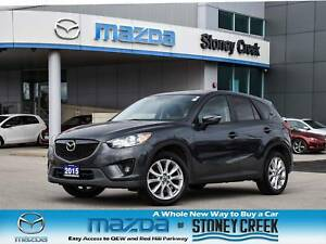 2015 Mazda CX-5 GT Leather Moonroof Rear Cam Heated Seats