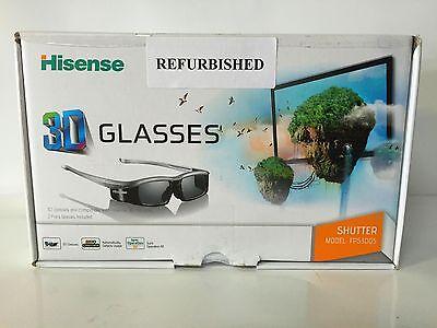 Two Refurbished Hisense 3D Active Shutter Glasses - READ INFO BELOW