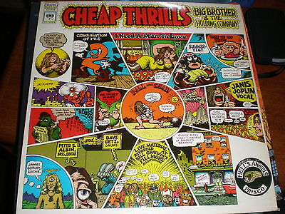 Big Brother And The Holding Company Lp Cheap Thrills