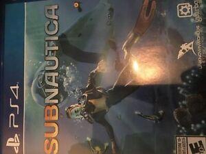 Jeux PS4 Subnautica