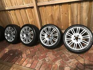 """Mercedes 18"""" 10 spoke Sport Wheels and Tyres Kingsville Maribyrnong Area Preview"""