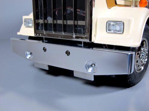 Aluminum Front Bumper Guard for Tamiya 1/14 RC King Grand Hauler Globerliner