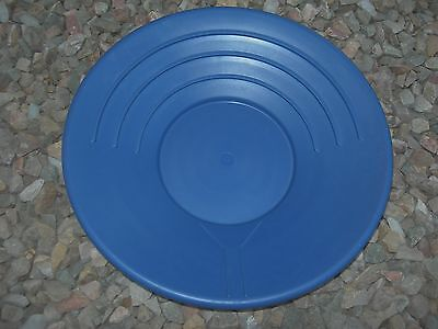 Gold Pan Panning 14 High Impact Plastic Blue Prospecting Mining Sluice Nuggets