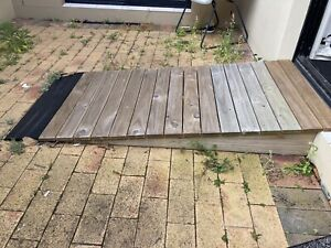 Ramps for wheelchair accessible