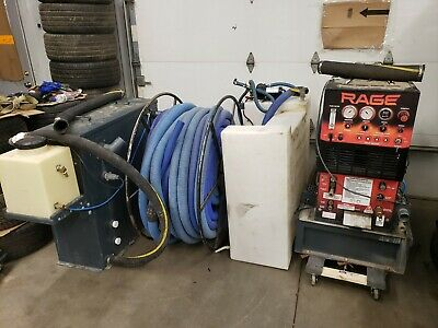 Truck Mount Carpet Cleaning Machine Sapphire Rage Kohler Engine Low Hours
