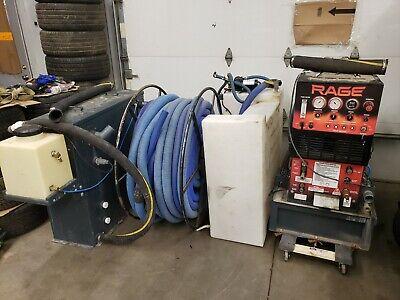 Truck Mount Carpet Cleaning Machine Sapphire Rage Kohler Engine Low Hours