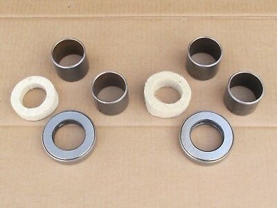 Front Wheel Spindle Repair Kit For Massey Ferguson Mf Harris 50 Industrial 202