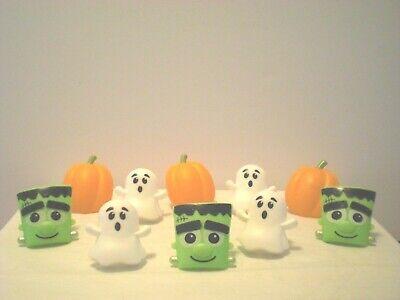 Halloween Pumpkin Cupcake Cake (10 Pc Halloween Rings Cupcake/Cake)