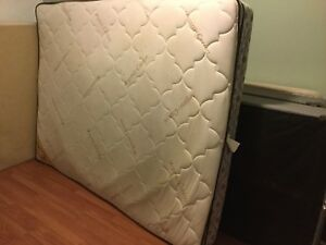 free delivery- 2yr old queen mattress and boxspring