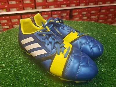 adidas Nitrocharge 2.0 TRX FG Soccer Cleats Shoes Blue Size 4 NEW