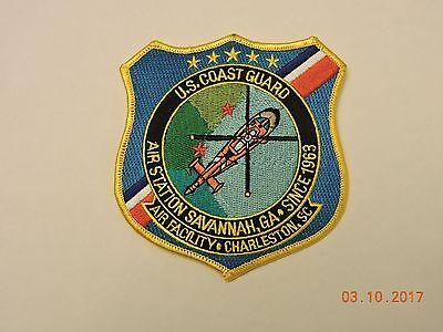 US Coast Guard Air Station GA Facility SC Charleston USCG Military Patch #17