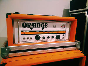 Orange AD200B Mk 3 200W Bass Head (w/ road case) & OBC410 Cabinet Banyo Brisbane North East Preview