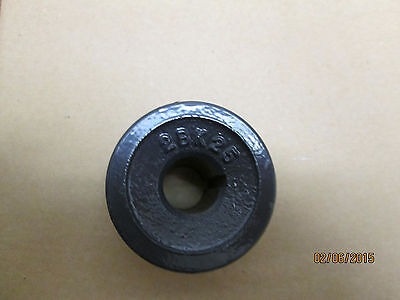 New 2bk25 X 12 2 Grooves V Belt Pulley 12 Bore 1 Set Screw 2.5 O.d.