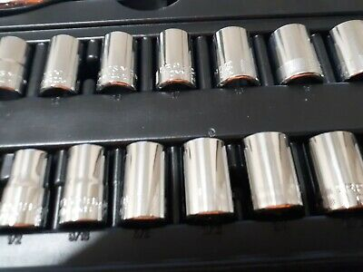 Craftsman  Socket 1/4 3/8 1/2 Drive 6 & 12pt MM & SAE Deep or Standard